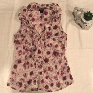Ann Taylor tank top blouse